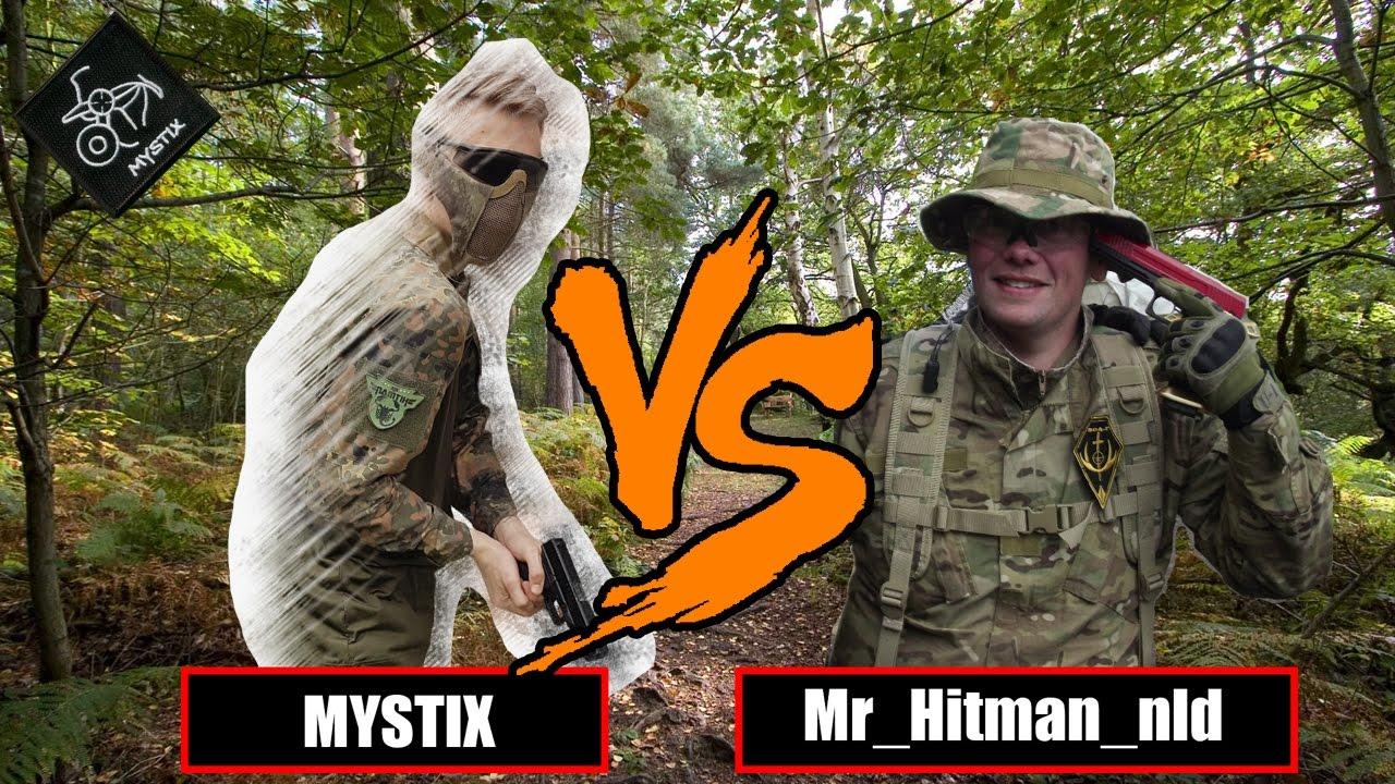 Les retours? 😅   Pistolet 1v1 seulement contre Mr_Hitman_nld   Airsoft