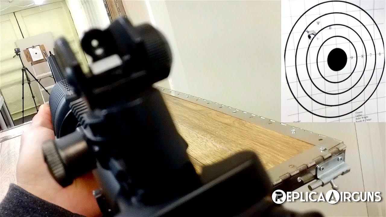 Revue des essais sur le terrain des carabines à air comprimé à essence KQWorks M4 Carbine CQB
