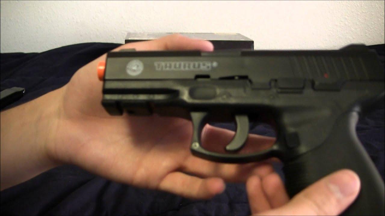 Test du pistolet Taurus PT 24/7 Co2 Airsoft