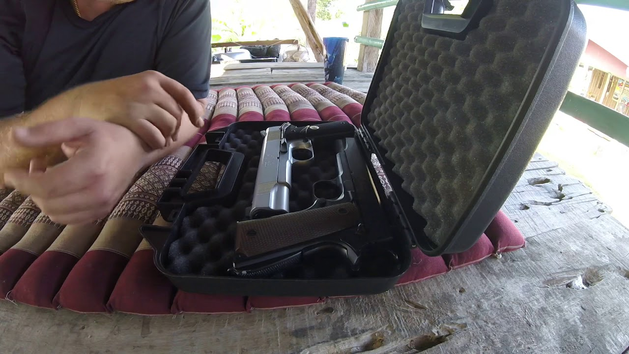 WE M1911 Airsoft Quick Fire Review