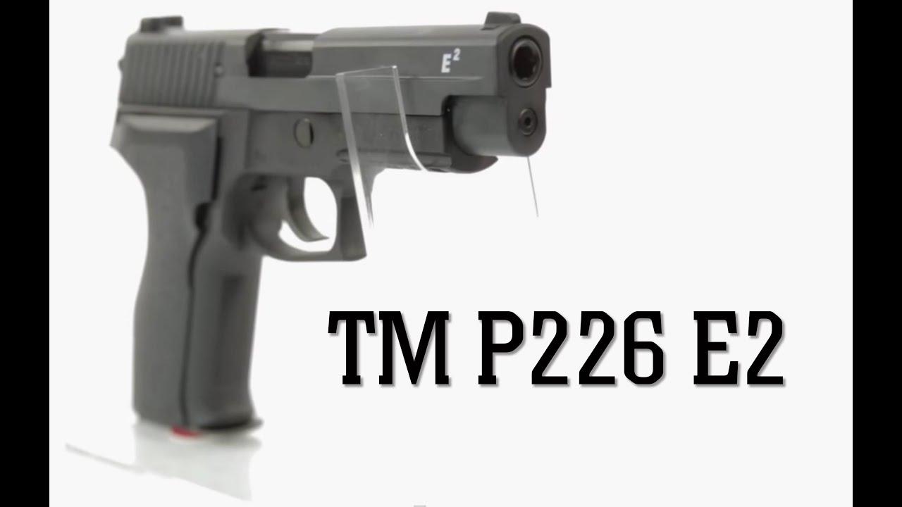 TM P226 E2 Test   Georaga Airsoft