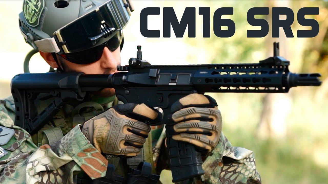 G & G CM16 SRS – ÉTUDE – ESSAI DE TIRAGE – Airsoft