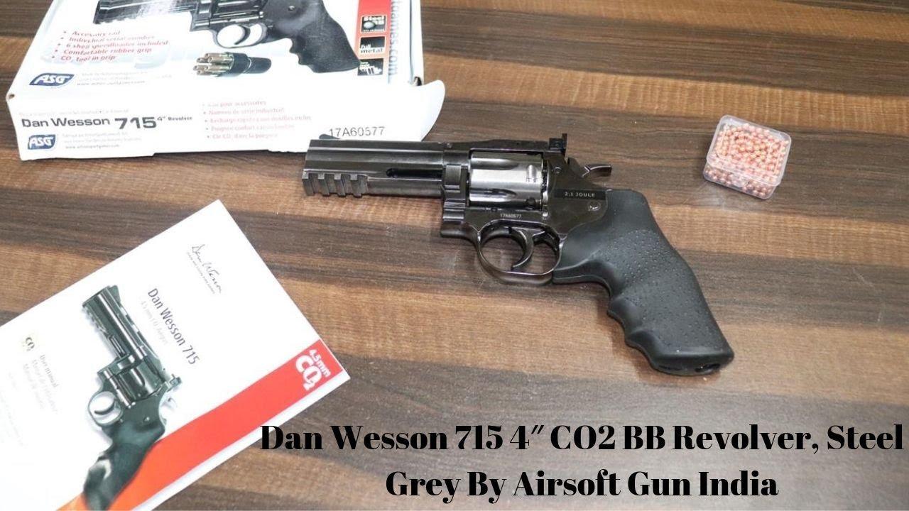 715 co2 bb Dan Wesson 4 pouces Par Airsoft Gun India