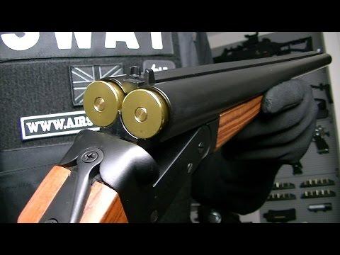 HAW SAN HS FUSIL SHOTGUN DOUBLE BARIL LONG / AIRSOFT / Hwasan
