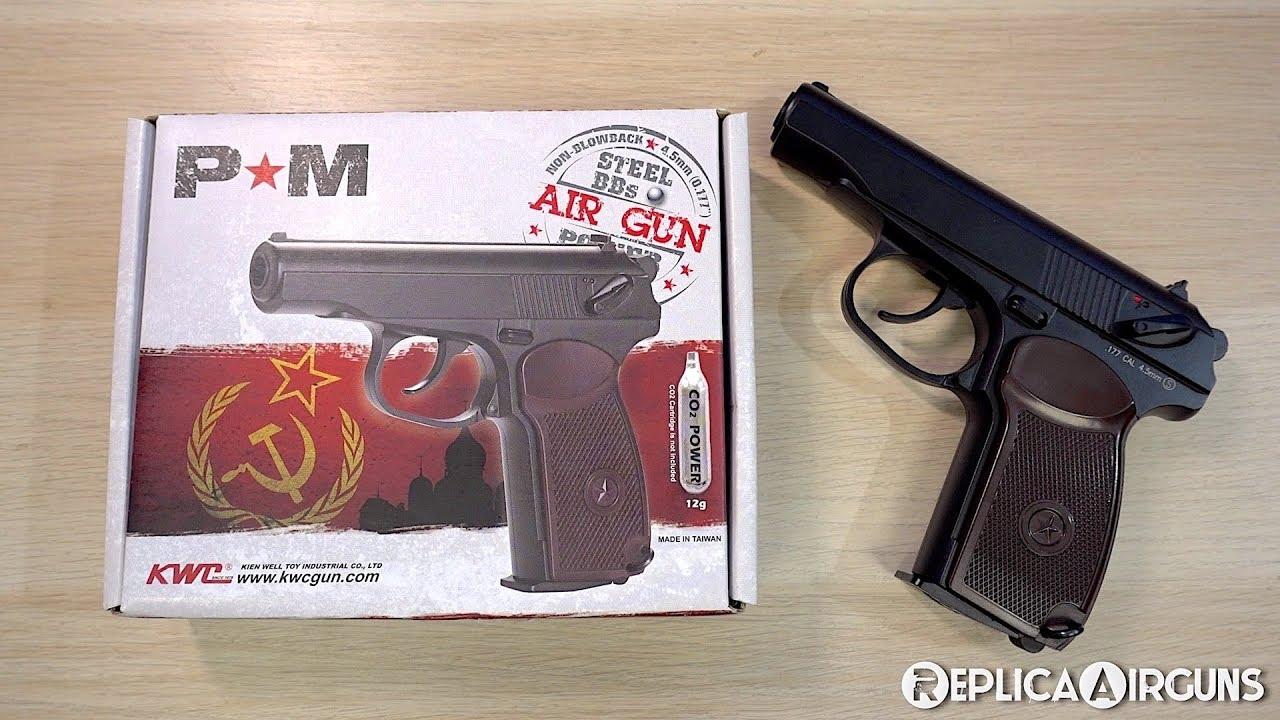 Revêtement de table pour pistolet BB KWC Makarov PM CO2 NBB BB