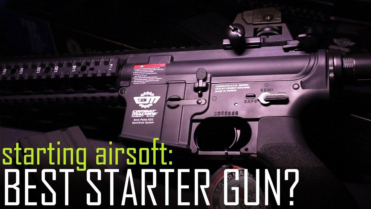 Démarrer Airsoft: le meilleur pistolet de démarrage? – Ep1. Quel fusil? & Intro au challenge de mise à niveau!
