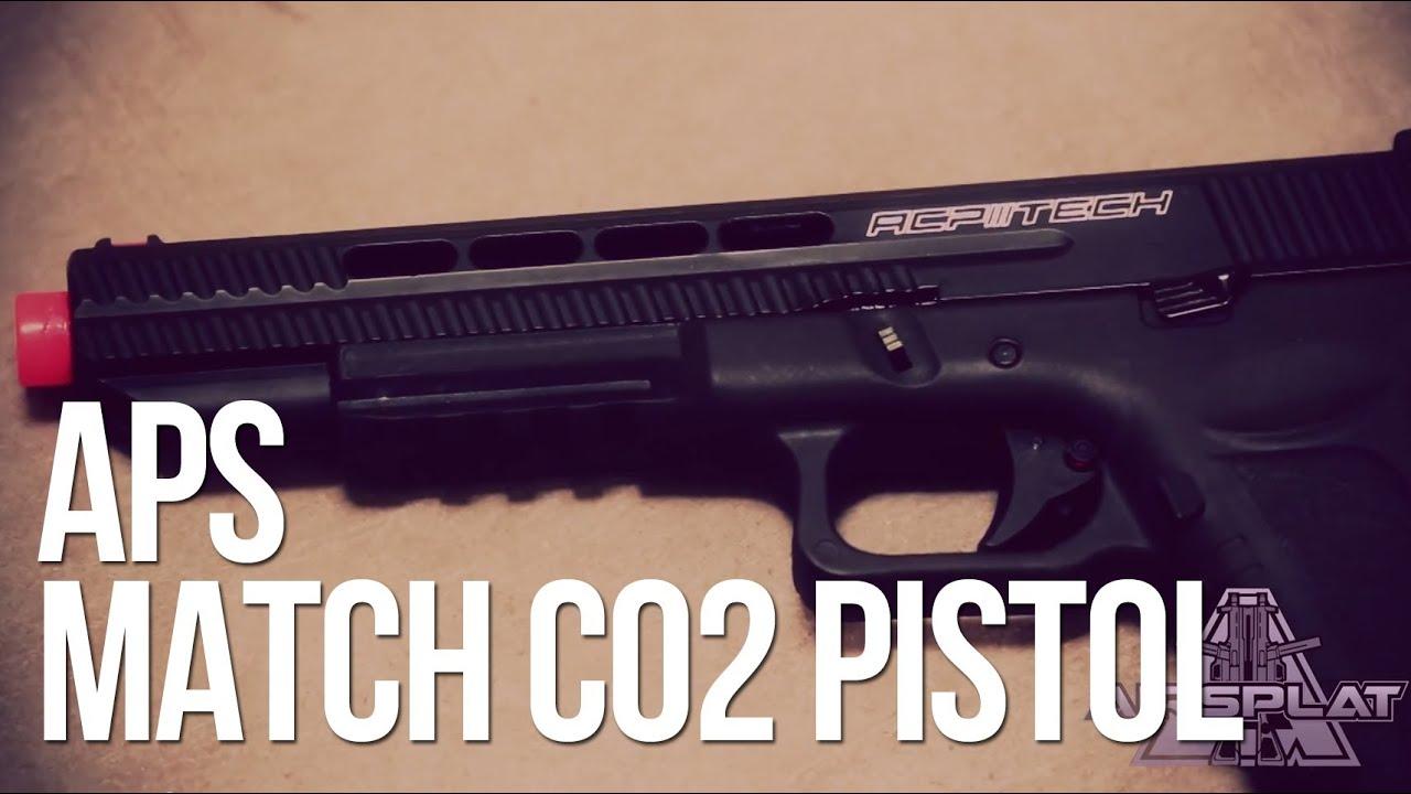 APS Match Grade ACP606 Spyder CO2 Airsoft Pistol – AirSplat On Demand