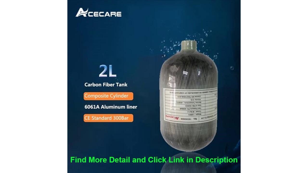 AC5020 Carabine à air comprimé compressée 2L CE 4500spi Scuba Mini Air / réservoir de paintball en fibre de carbone Cyl