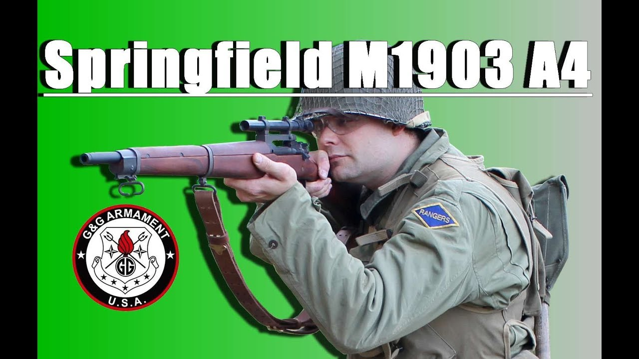 Springfield M1903 A4 G&G – REVIEW AIRSOFT