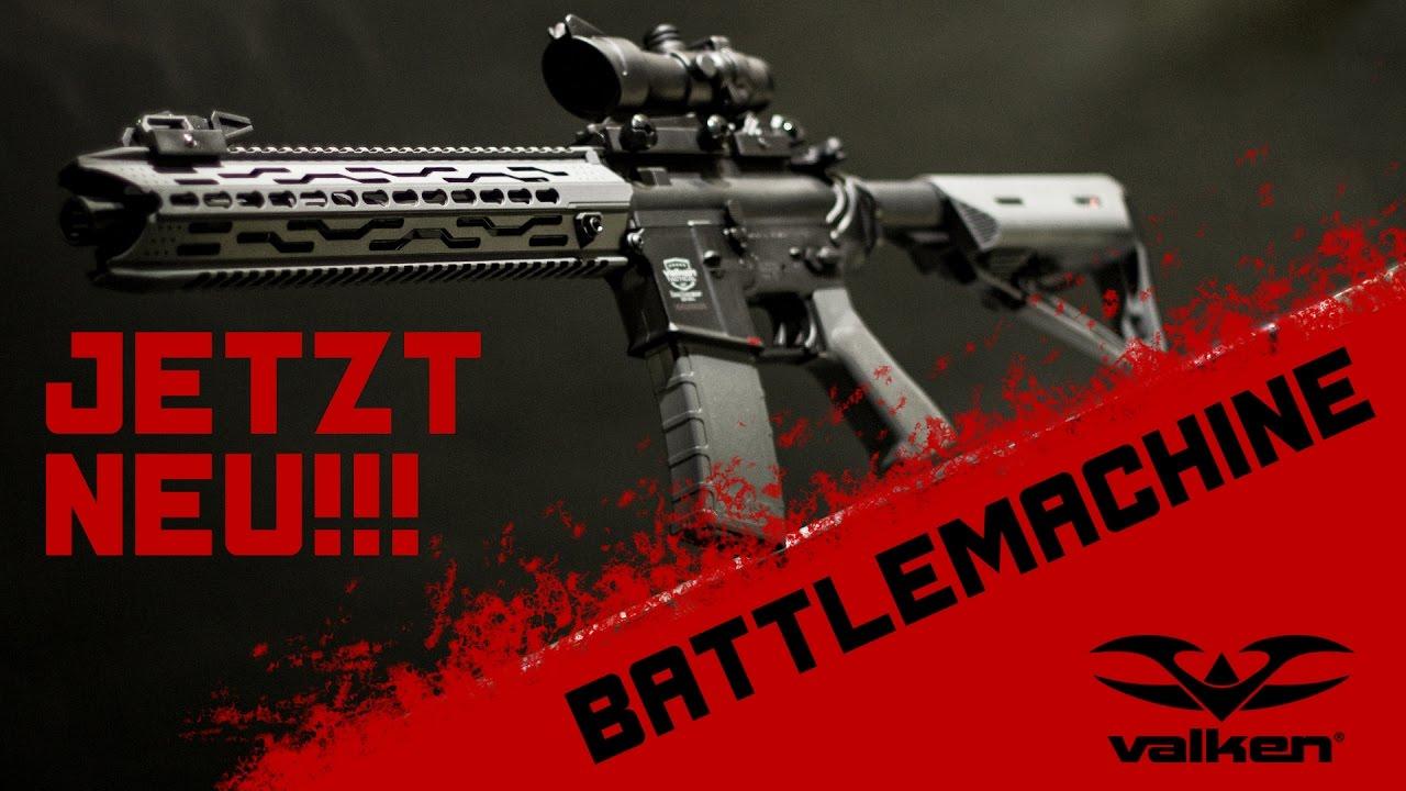 Valken Battlemachine TGR ⌖ Monstre de joueur à moins de 190 €? | Airsoft Review – Anglais