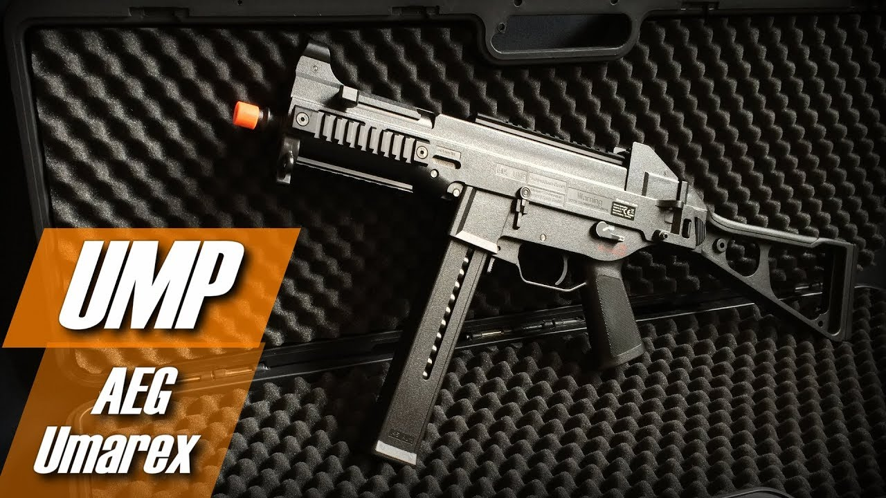 UMP 45 H & K de Umarex (AEG) (Airsoft Review and Test BR)