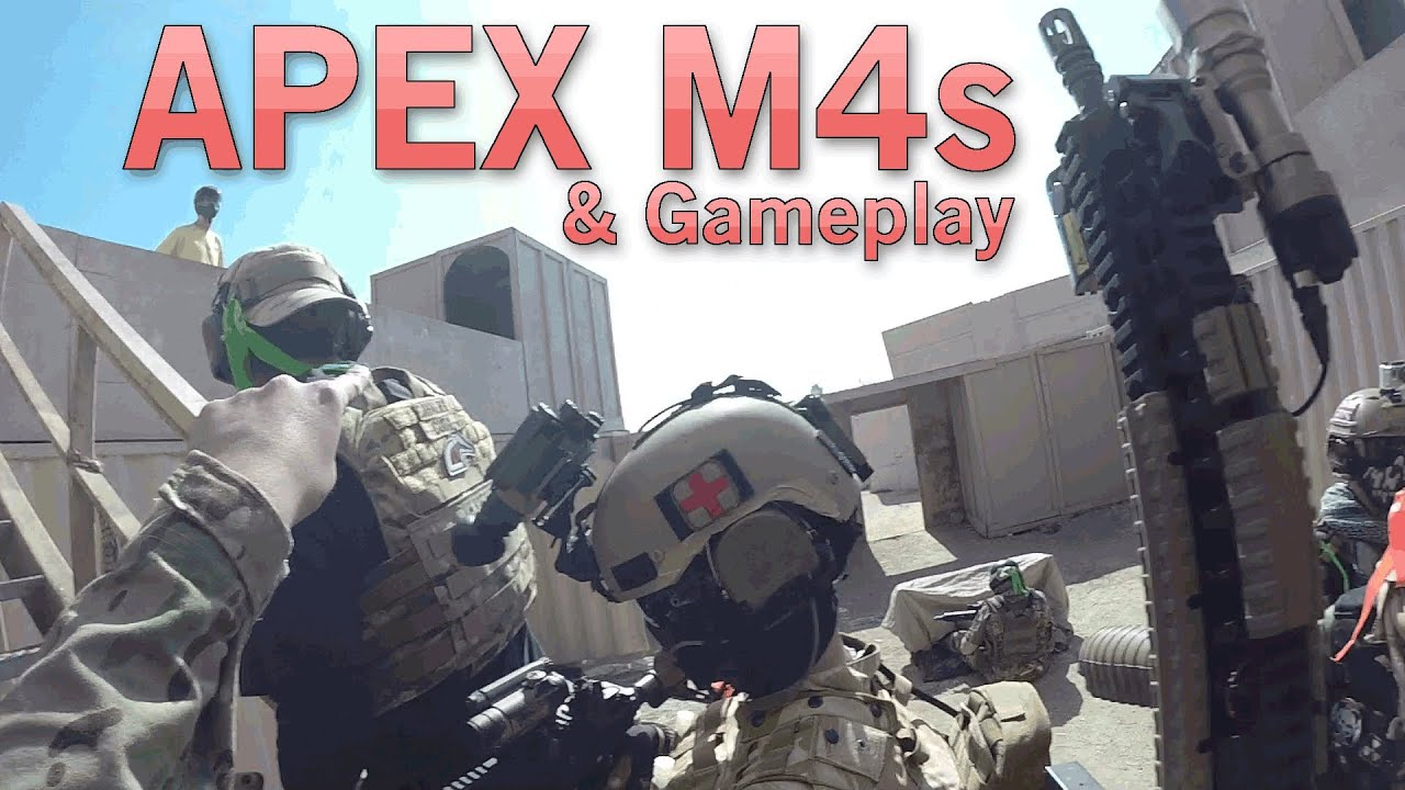 Gameplay et performances de l'APEX M4 – Fusil d'assaut AEG abordable | Airsoft GI