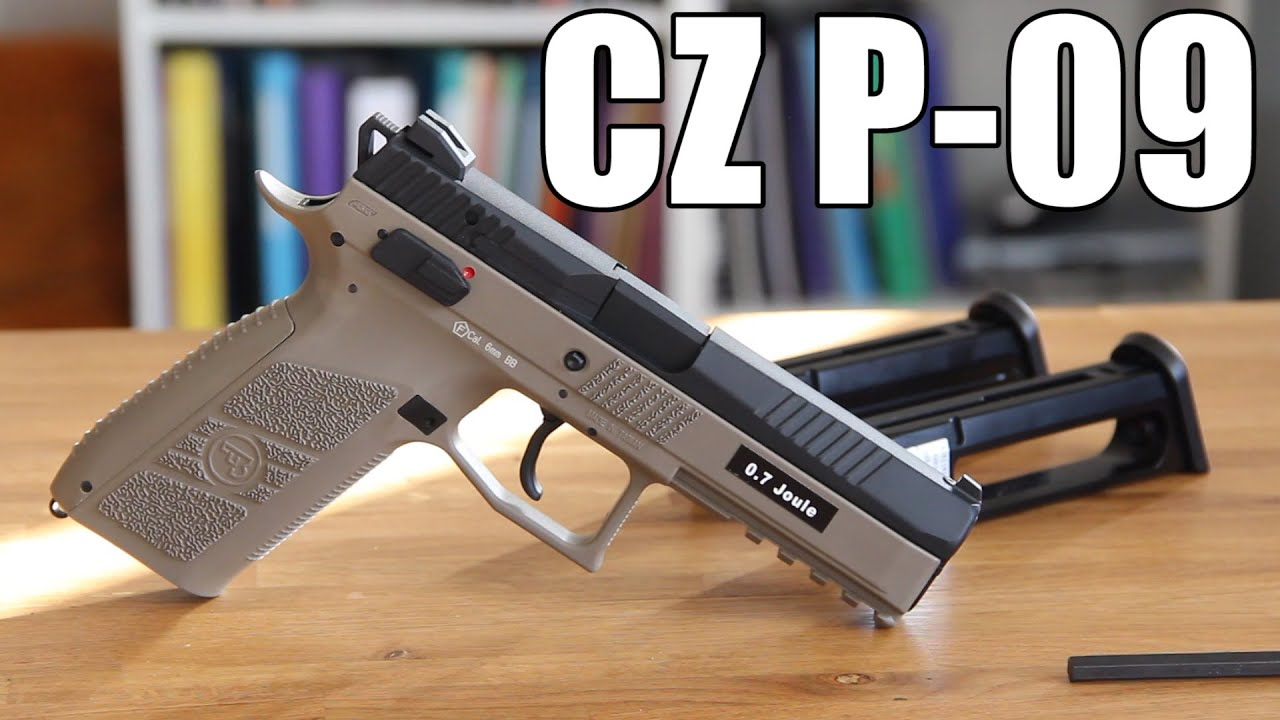 AIRSOFT | REVIEW | À confirmer | ASG CZ P09 GBB (ANGLAIS SUBS)