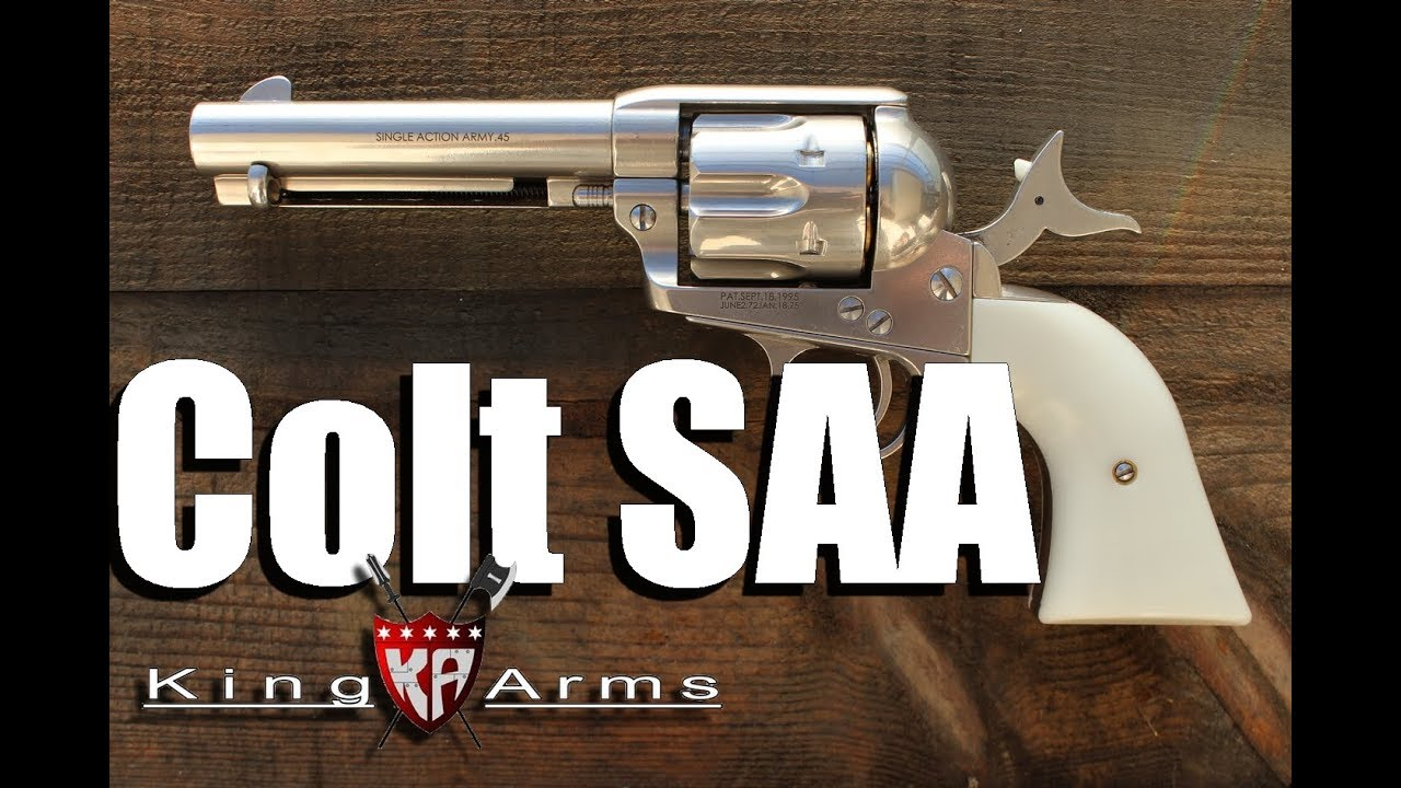 Colt SAA King Arms – REVIEW AIRSOFT
