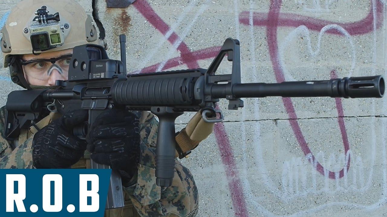 Airsoft | Lonex M4 SOPMOD EBBR | Review on Battlefield