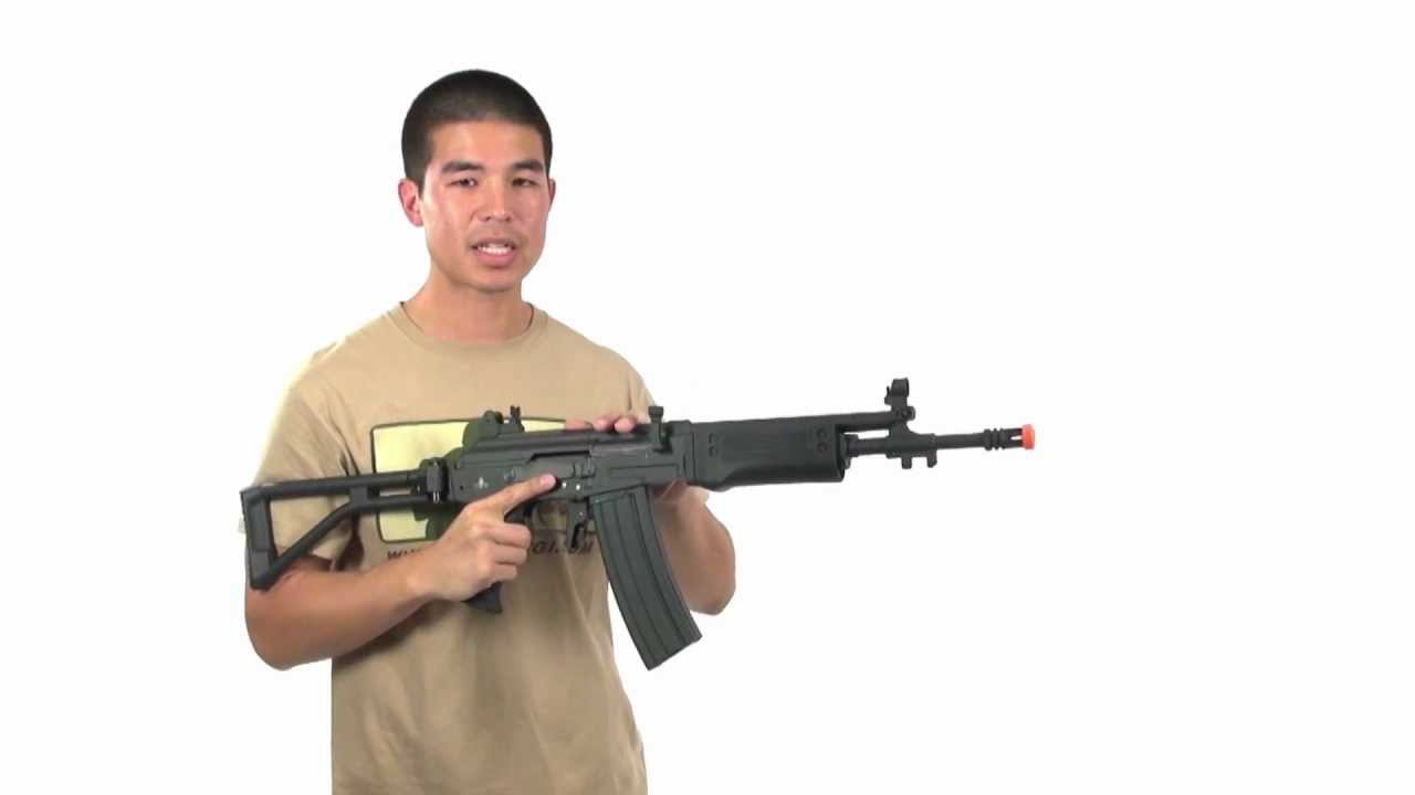 Airsoft GI – Réaction de pistolet AEG Airsoft de CYMA Galil SAR