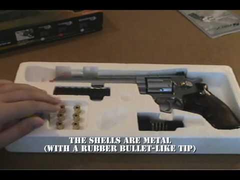Test du revolver Airsoft WinGun (WG) M702 Co2 (Argent)