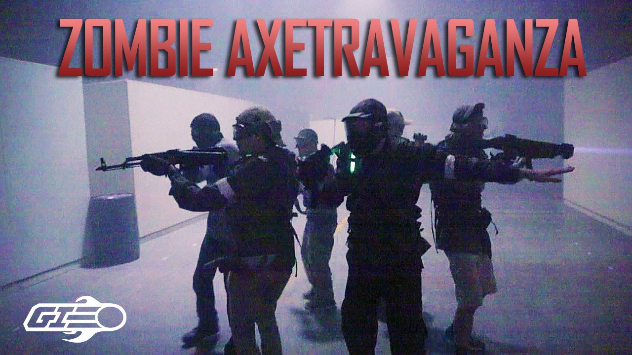 Zombie Airsoft Game – L'Attaque de Bob au Gamepod Teaser – Airsoft GI Gameplay