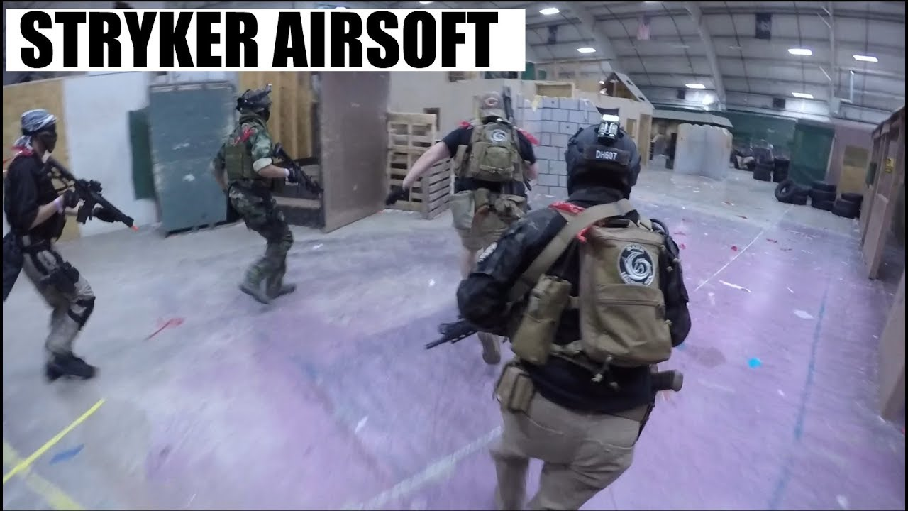 Stryker Airsoft Gameplay Montage