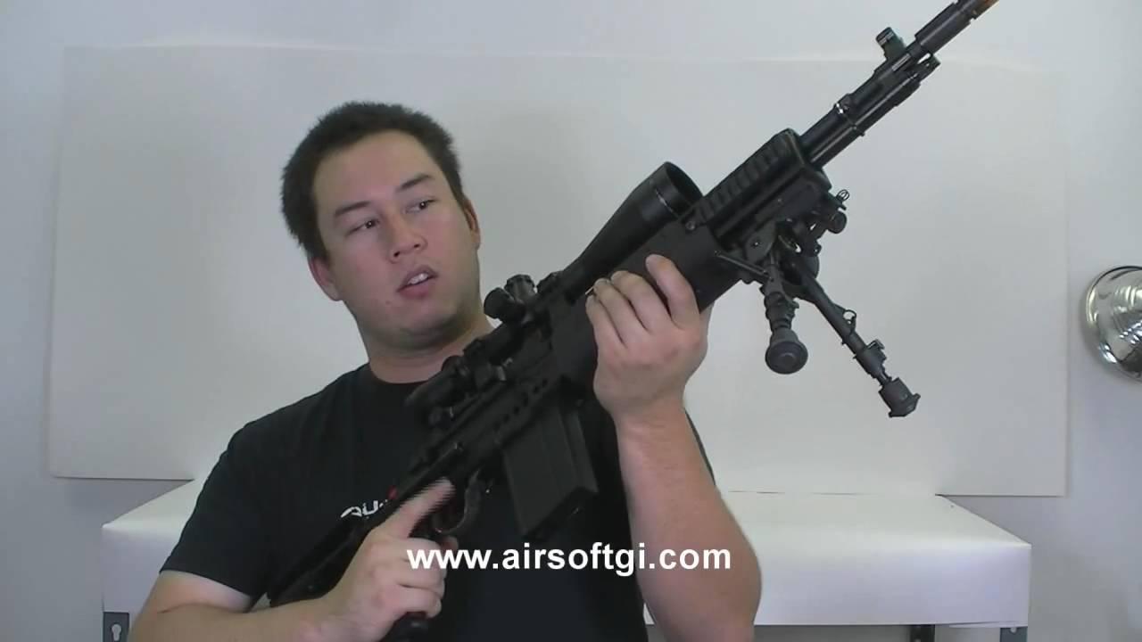 Airsoft GI – Armée classique AEG M14 EBR Full Metal