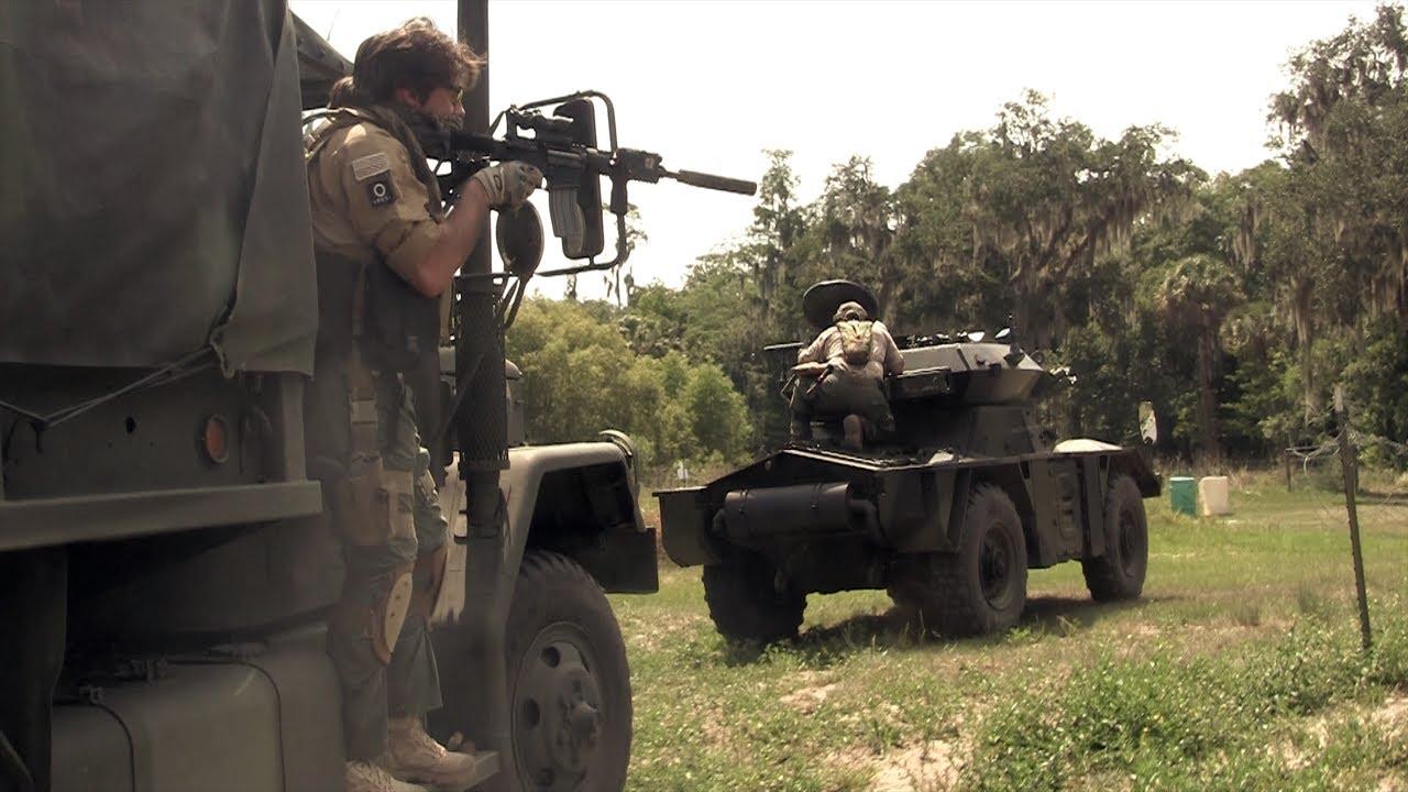 Guerre Airsoft – Convoi blindé, DV8 Airsoft Milsim
