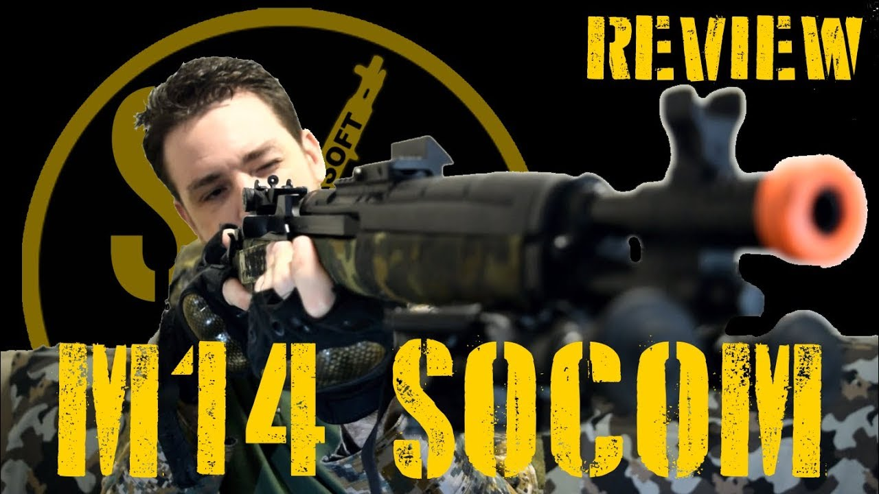 Airsoft M14 SOCOM – UN CANAL AEG!