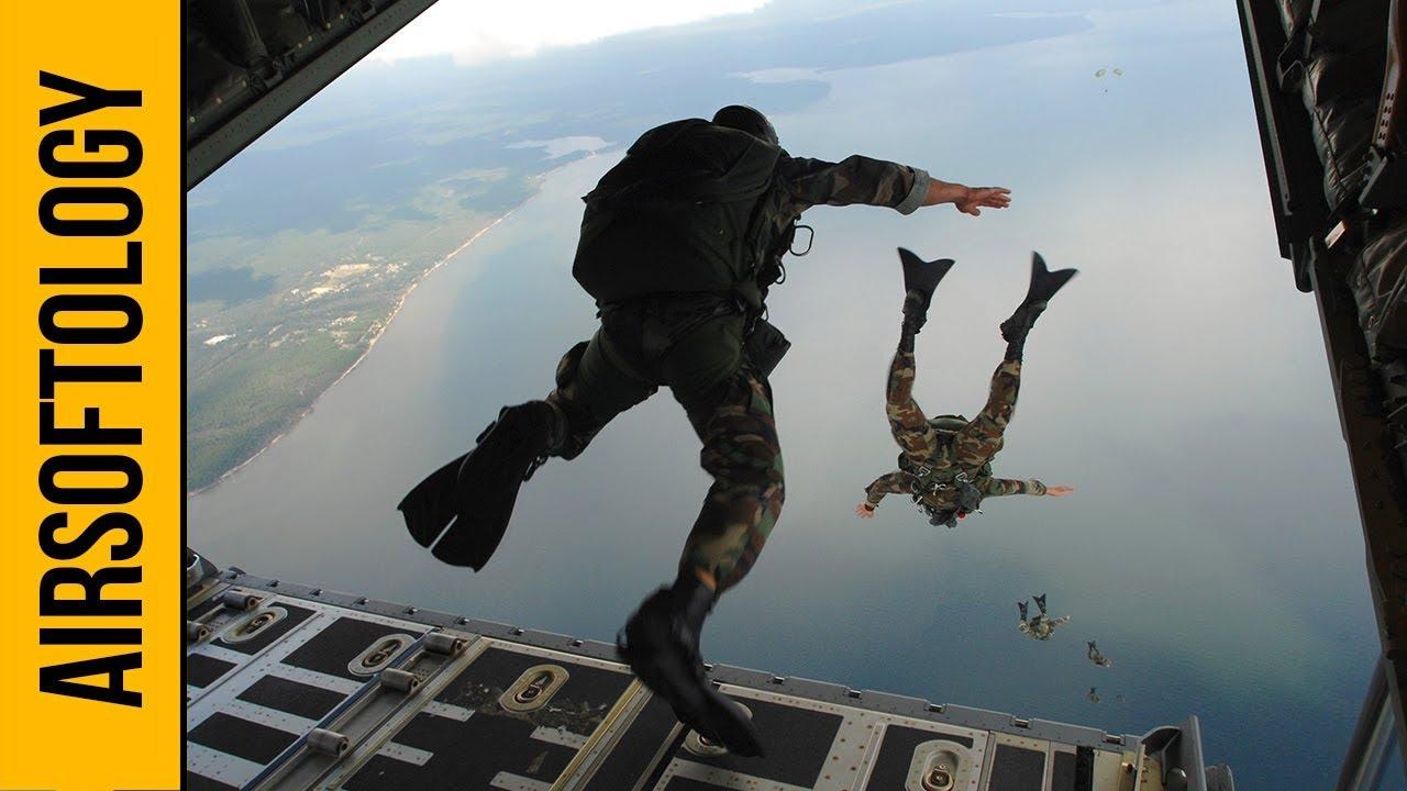 Parachutisme dans un jeu Airsoft | Salon de questions et réponses sur l'airsoftology
