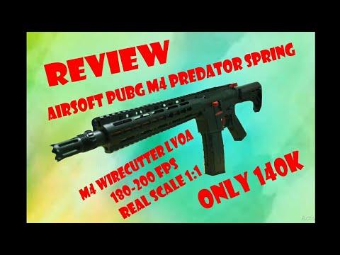 Avis pistolets jouets airsoftgun Wirecutter PUBG M4 Predator