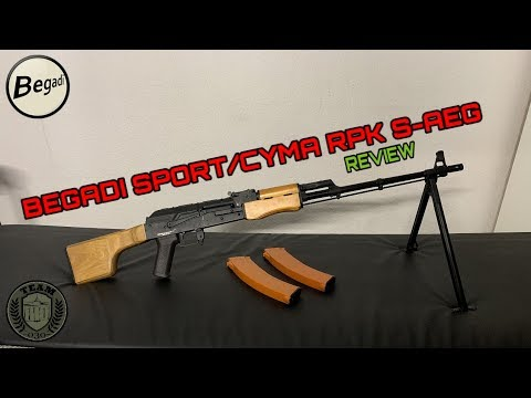 Begadi Sport / CYMA RPK-74 S-AEG Critique Allemand