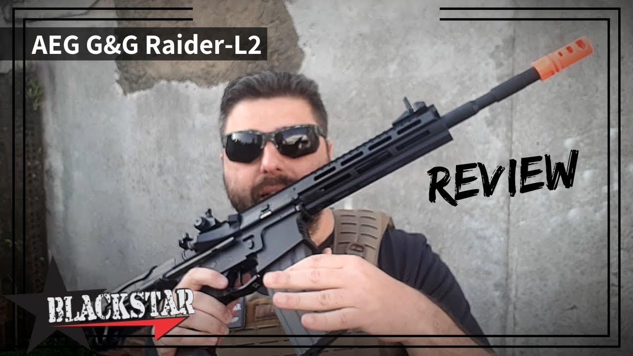 Présentation du G & G Raider L 2.0 E (AIRSOFT)