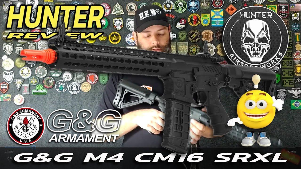 REVIEW CHASSEUR – G & G M4 CM16 SRXL