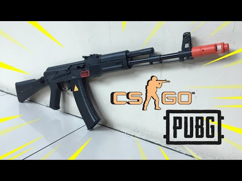 ALPHA KING AK74M (Unboxing, Review and FPS Testing) – Blasters Mania