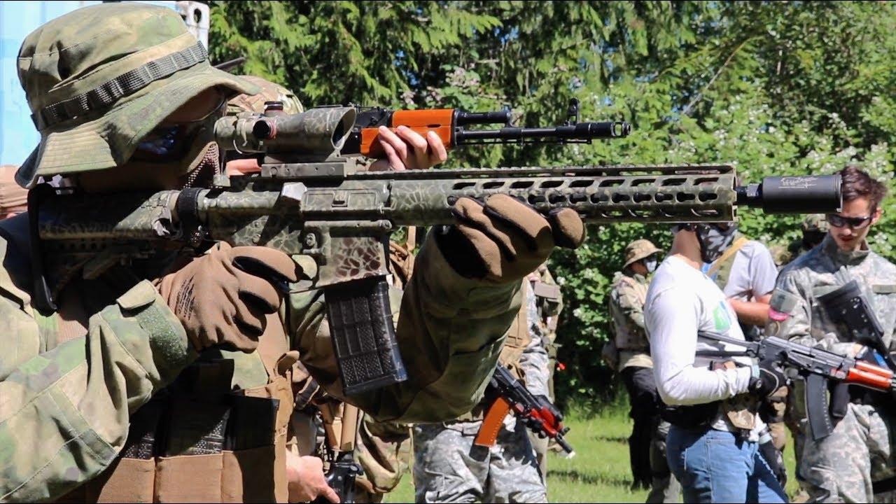 Airsoft War Outdoor sur le terrain T.A.A.G.S USA!
