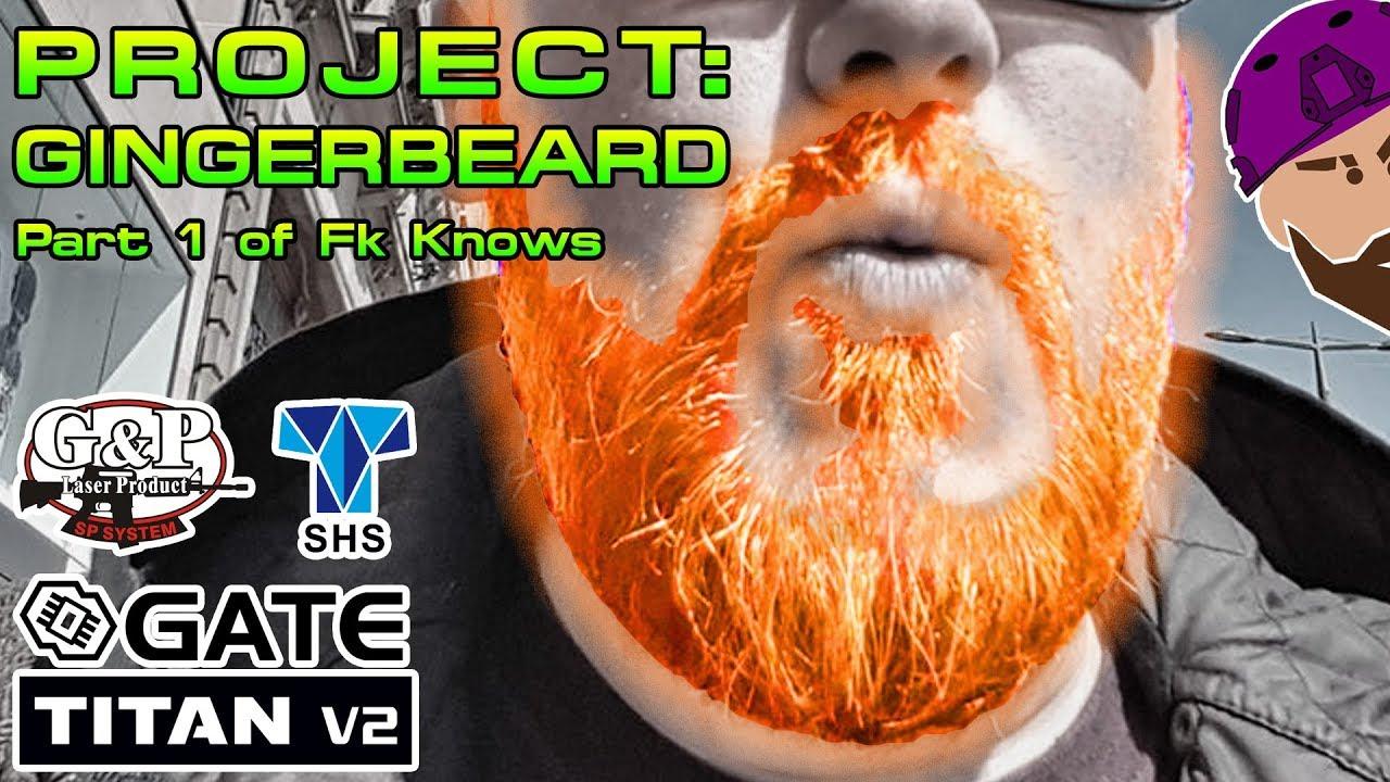 Projet Airsoft: GINGERBEARD # 1 | Gate Titan V2 Installer | Engrenages et moteur