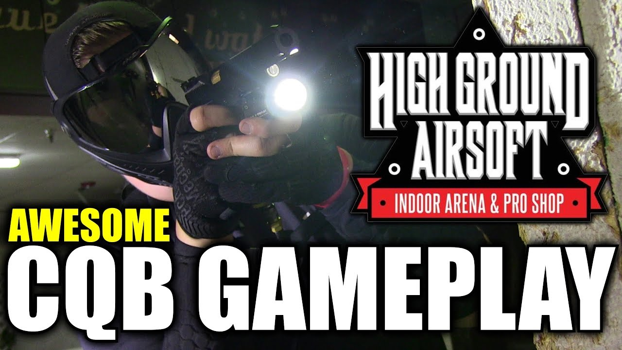 Awesome Airsoft Gameplay à High Ground Airsoft – Beaucoup de HITS
