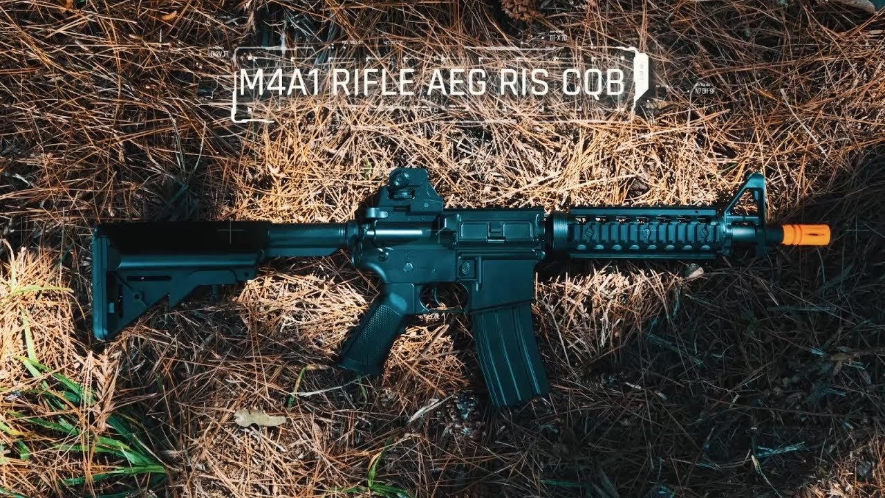 CYMA Airsoft AEG M4A1 Ris Cqb Rifle – Avis sur Ventureshop