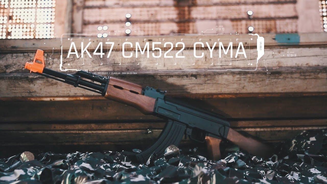 CYMA Airsoft AK47 CM522 testé – Avis sur Ventureshop