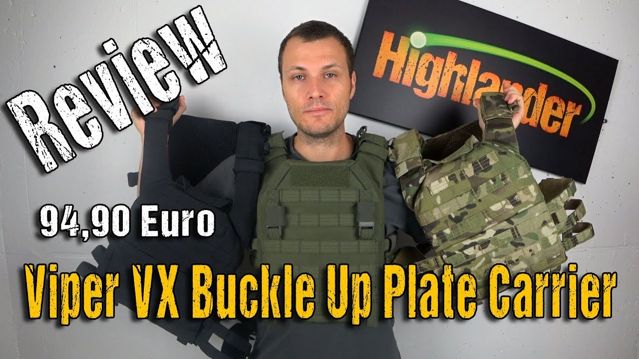 Porte-assiettes à boucle avec boucle Viper VX | Examen | Highlander Airsoft