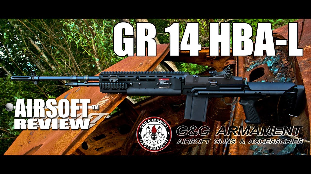 GR14 M14 HBA-L G&G ARMAMENT / AIRSOFT REVIEW