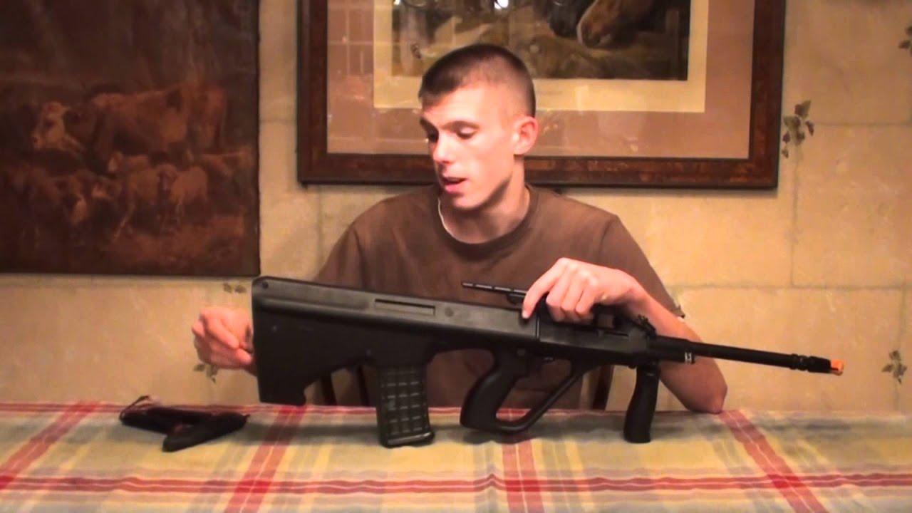 Classic Army Steyr AUG A2 Airsoft Gun Review