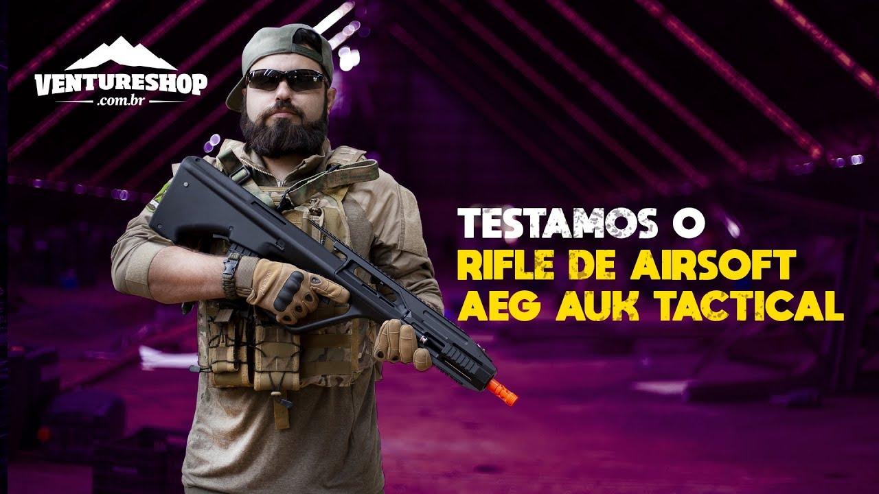 Test de performance du fusil tactique Airsoft AEG AUK – Revue VentureShop