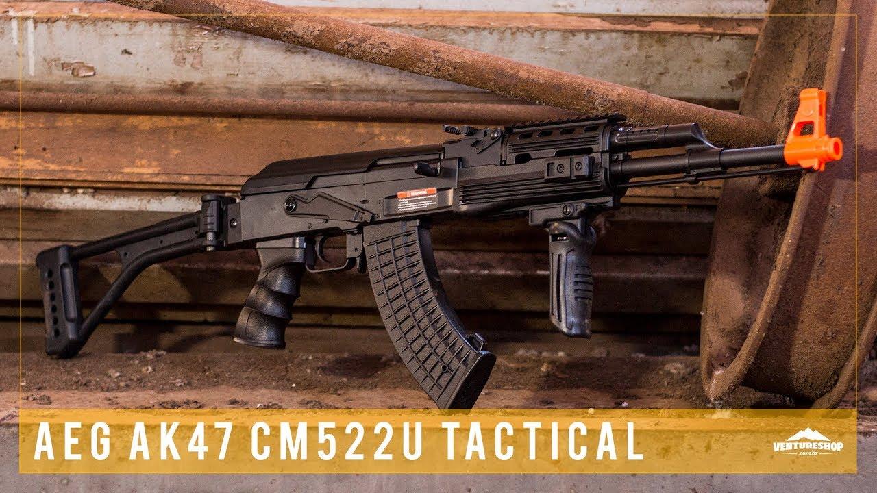 Tester le fusil tactique CYMA Airsoft AK47 CM522U – Revue de Ventureshop