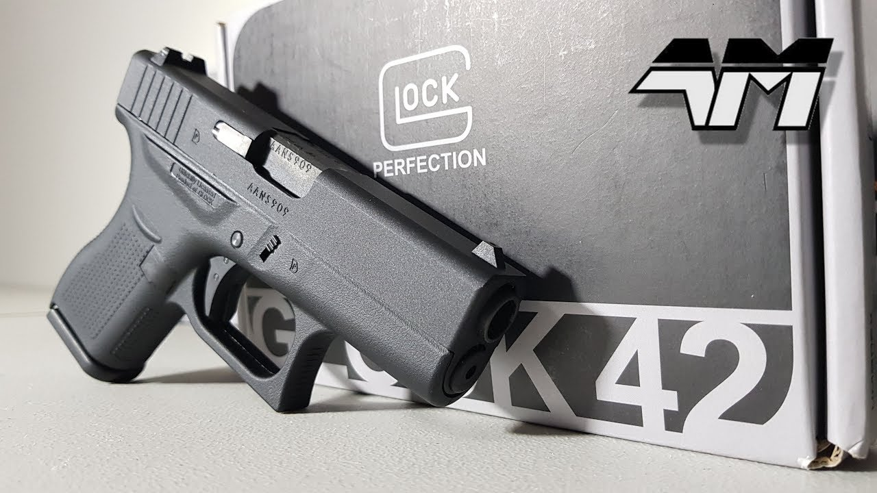 UMAREX GLOCK 42 / Elite Force sous licence officielle Glock 42 / Airsoft Unboxing Review / VFC