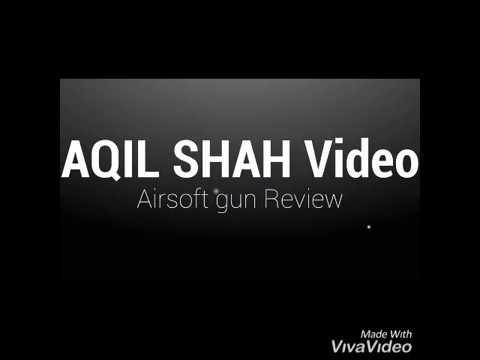 Airsoft Gun Review- de aqil shah