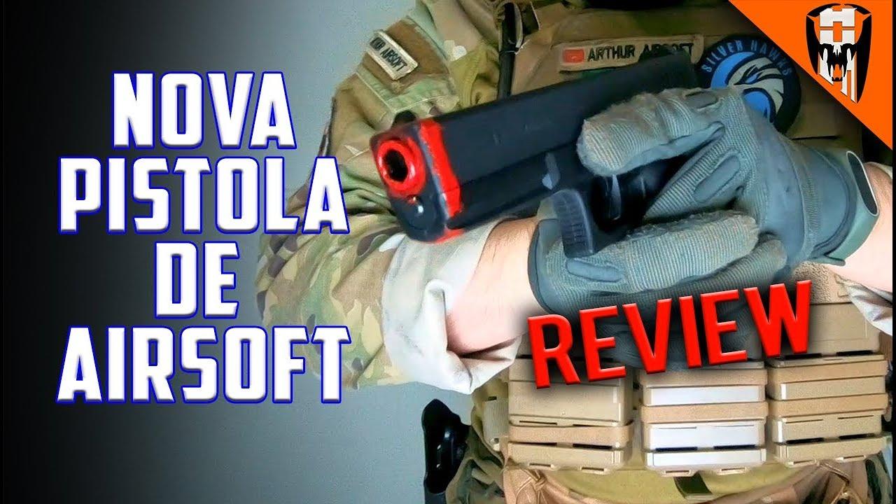 Mon nouveau pistolet Airsoft Le GAZ! – Commentaire GLOCK G17 WE GBB