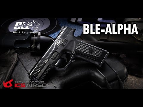 AIRSOFT l Review Pistolet GBB – ICS Black Leopard Eye