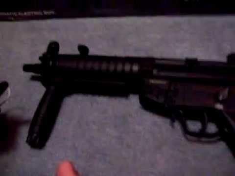 Examen du pistolet airsoft JG Full Metal MK5A4 RAS