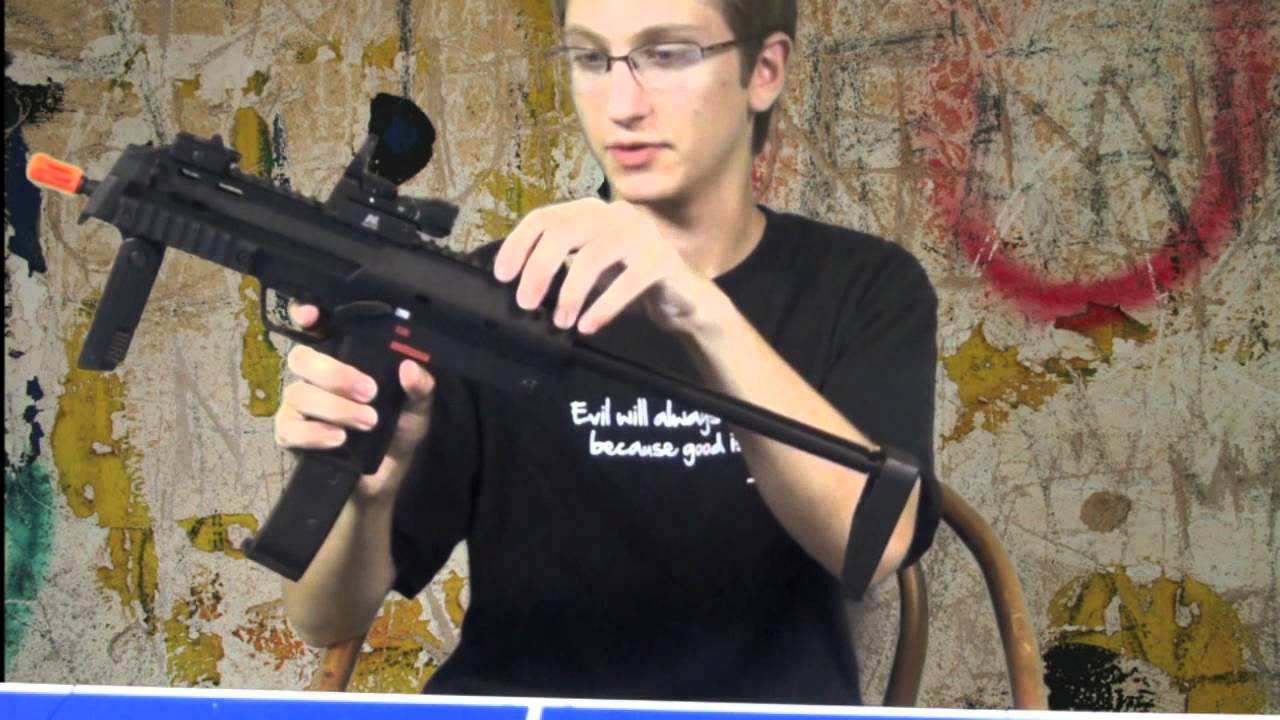 H & K MP7 A1 Airsoft Test