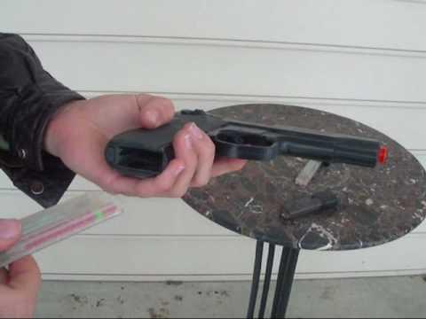 Bon pistolet airsoft de printemps | Airsoft de retour dans la journée | Vintage Airsoft Vidéos