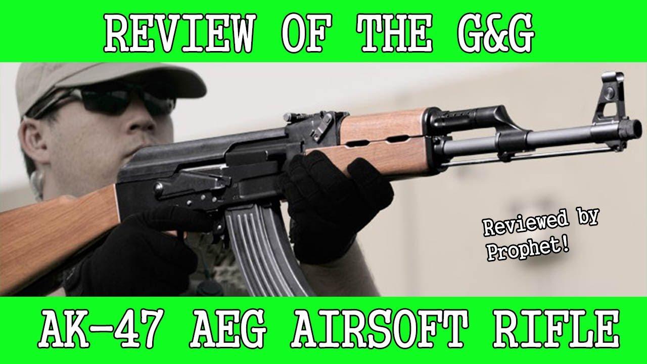 Examen de l'AEG Airsoft A & G AK-47 (2014)
